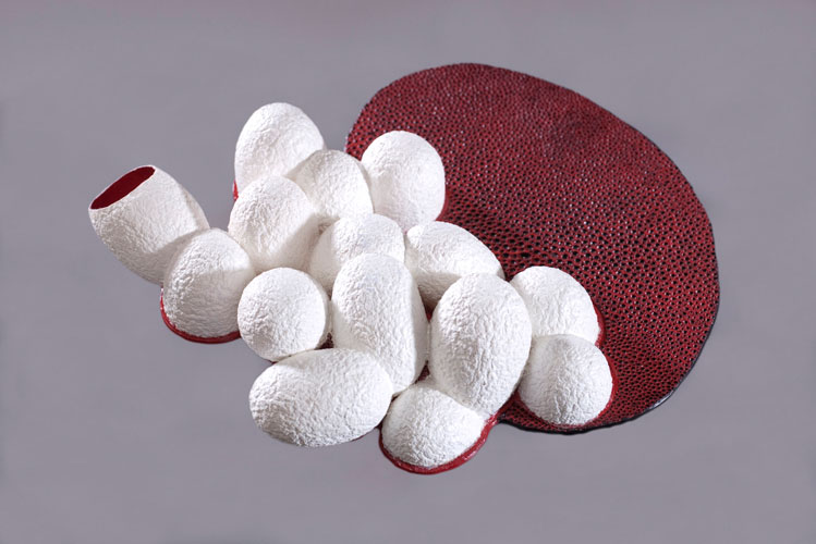 Efharis Alepedis Coral  Brooches, 2010