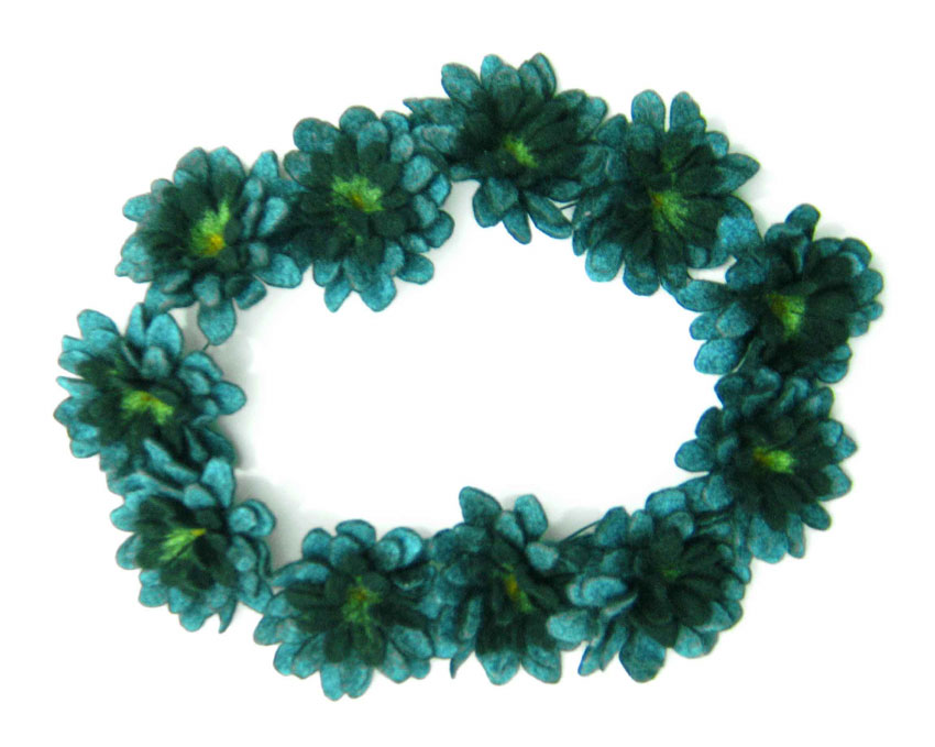 Karin Wagner - CKA - Artist's Bio Page :  jewelry felt indie designer flowers
